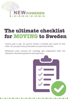 Ultimate checklist for moving to Sweden